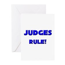 Judges Rule! Greeting Cards (Pk of 10)