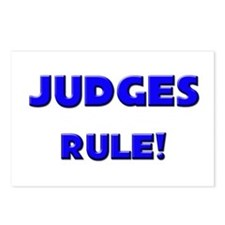 Judges Rule! Postcards (Package of 8)