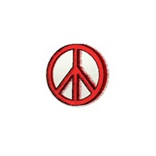 Neat Little Peace Movement Mini Button