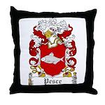 Pesce Family Crest Throw Pillow