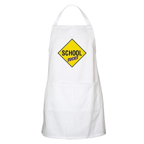 School Sucks BBQ Apron