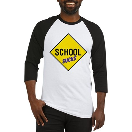 School Sucks Baseball Jersey