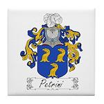 Petrini Family Crest Tile Coaster
