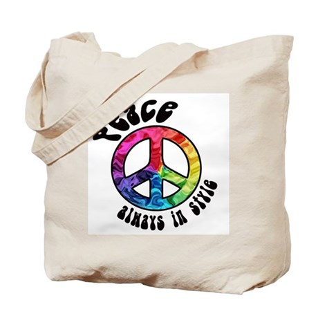 Peace Always in Style Tote Bag