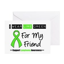 IWearLimeGreen (Friend) Greeting Cards (Pk of 10)