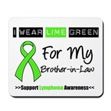 I Wear Lime Green (BIL) Mousepad