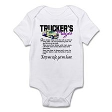 Trucker's Prayer Infant Bodysuit