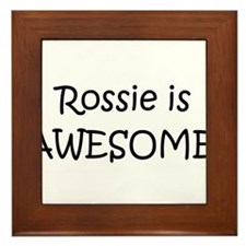 Unique Rossi Framed Tile