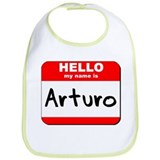 Hello my name is Arturo Bib