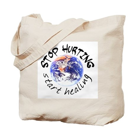 Start Healing the World Tote Bag