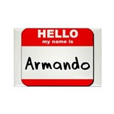 Hello my name is Armando Rectangle Magnet (10 pack