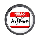 Hello my name is Arlene Wall Clock