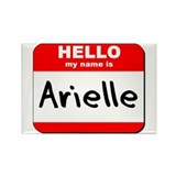Hello my name is Arielle Rectangle Magnet