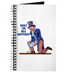 Distressed Uncle Sam Journal