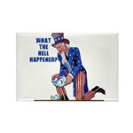 Distressed Uncle Sam Rectangle Magnet (10 pack)