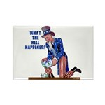 Distressed Uncle Sam Rectangle Magnet (100 pack)