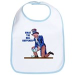 Distressed Uncle Sam Bib
