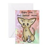 Get Well Wishes Greeting Cards (Pk of 20)
