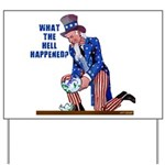 Distressed Uncle Sam Yard Sign