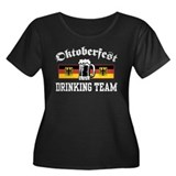 Oktoberfest Drinking Team Women's Plus Size Scoop