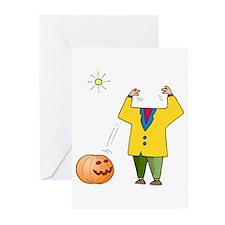 Headless Jack-o-Lanturn Greeting Cards (Pk of 20)