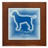 Portuguese Pointer Framed Tile
