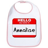 Hello my name is Annalise Bib