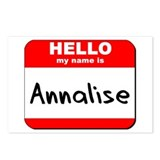 Hello my name is Annalise Postcards (Package of 8)