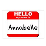 Hello my name is Annabelle Postcards (Package of 8