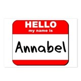 Hello my name is Annabel Postcards (Package of 8)