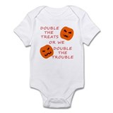 Double Tricks or Treats Infant Bodysuit