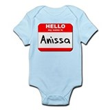 Hello my name is Anissa Onesie