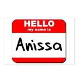 Hello my name is Anissa Postcards (Package of 8)
