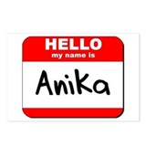 Hello my name is Anika Postcards (Package of 8)