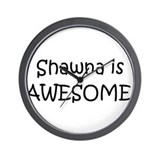 Cool Shawna Wall Clock