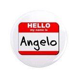 "Hello my name is Angelo 3.5"" Button"