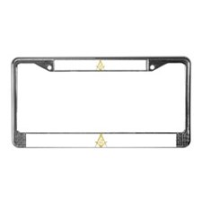 Unique Masonic symbol License Plate Frame