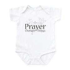Prayer Changes Things Infant Bodysuit