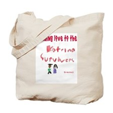 Funny Hurricane relief Tote Bag