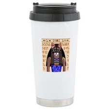 Bastet Ceramic Travel Mug