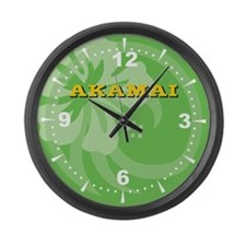 Akamai Large Wall Clock