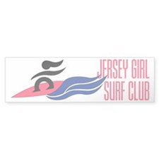Jersey Girl Surf Club Bumper Sticker (10 pk)