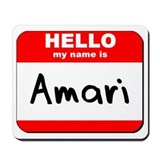 Hello my name is Amari Mousepad