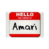 Hello my name is Amari Rectangle Magnet (10 pack)