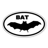 BAT Oval Stickers