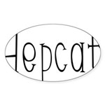 Hepcat Oval Sticker (50 pk)