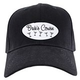 B&W Multi Bride's Cousin Baseball Hat