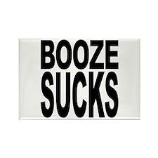 Booze Sucks Rectangle Magnet (10 pack)