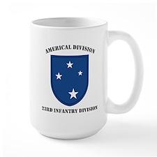 Americal Division 23rd Infant Mug