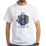 Piazzola Family Crest White T-Shirt